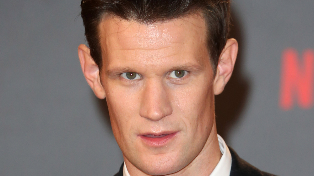 Matt Smith at event for The Crown
