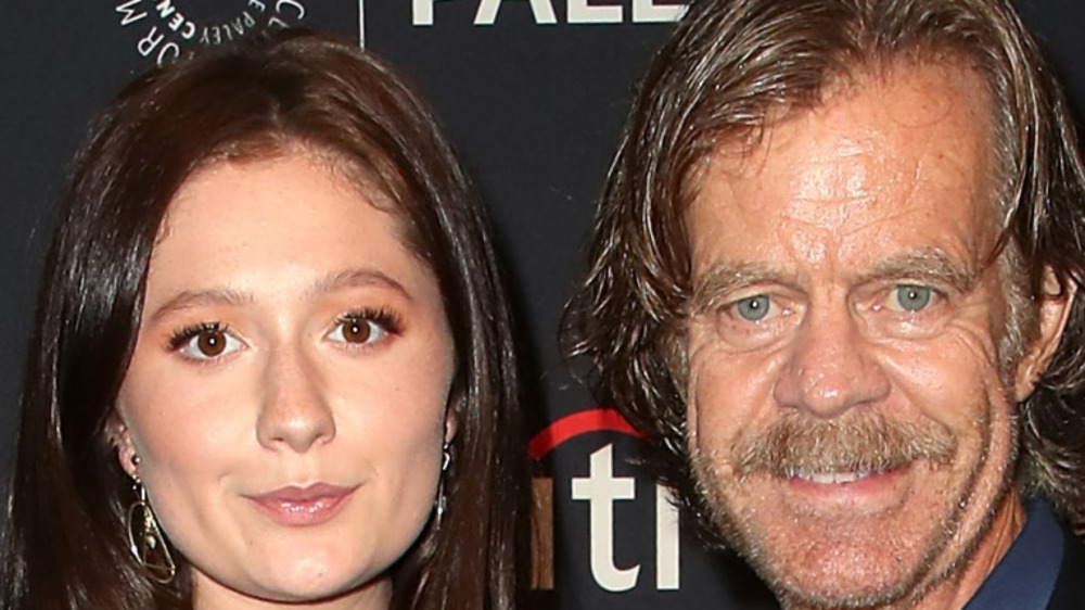 Emma Kenney and William H Macy