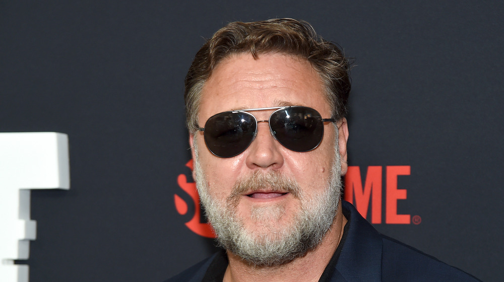 Russell Crowe attending an event
