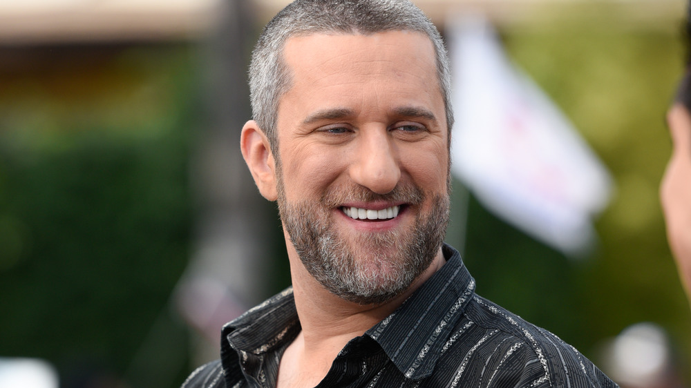 Dustin Diamond smiling in interview
