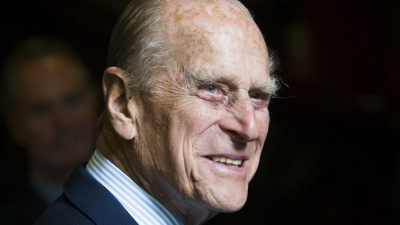 Prince Philip close-up