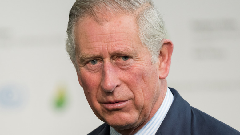 Prince Charles in blue