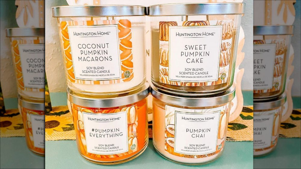 Aldi's new fall-themed candles
