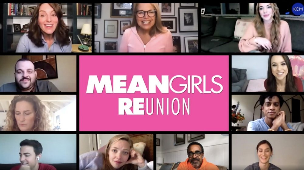 The reunited cast of Mean Girls