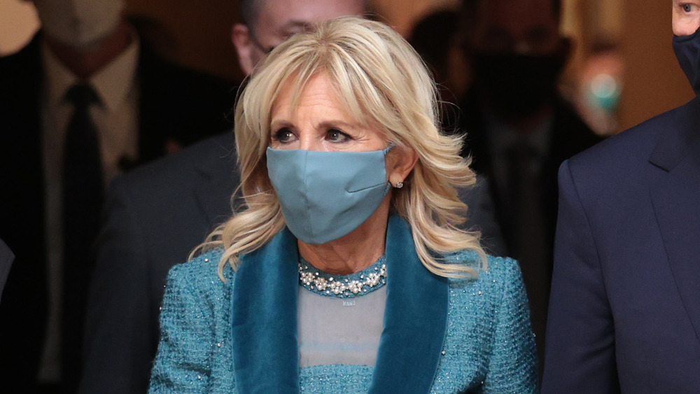 Dr. Jill Biden on inauguration day