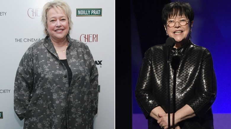 Kathy Bates before and after weight loss