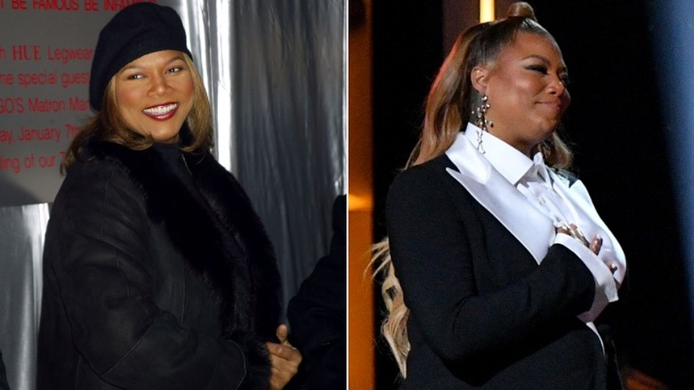 Queen Latifah before and after weight loss