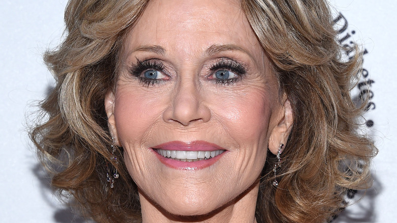 Jane Fonda at a red carpet event