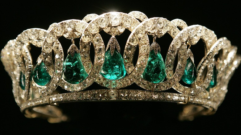 The royal family's Vladmir tiara