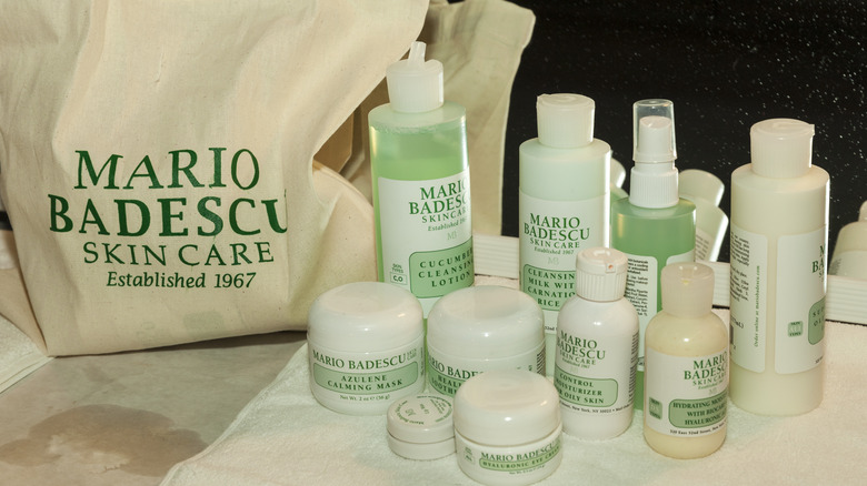 Assorted Mario Badescu products