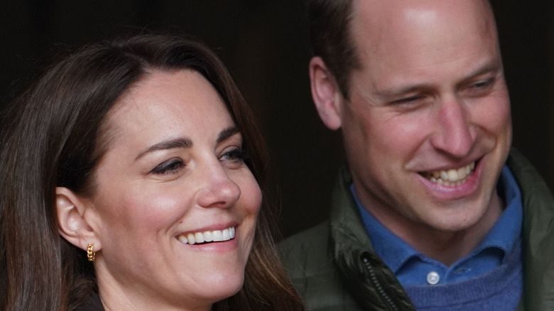 Prince William with Duchess Kate Middleton