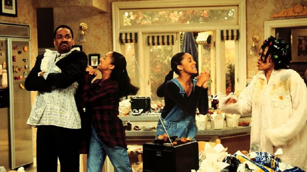 The cast of Sister, Sister