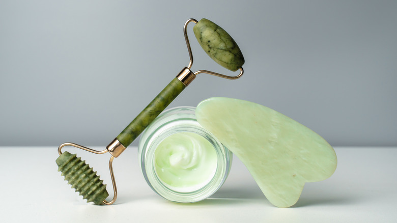 Jade Roller and Gua Sha Stone