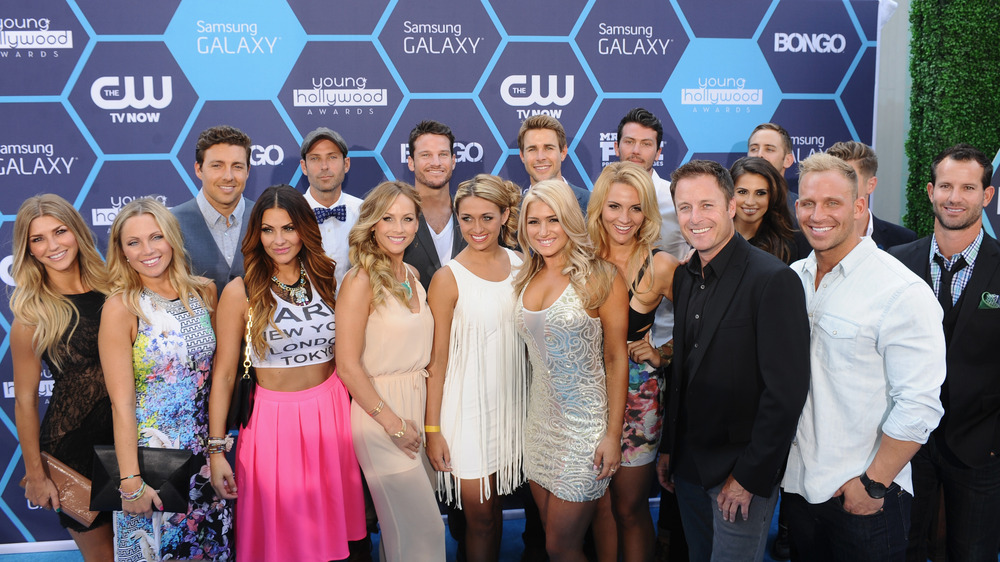 Contestants from The Bachelor posing
