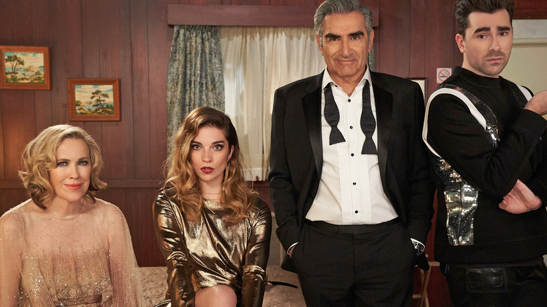 Schitt's Creek cast promo shot