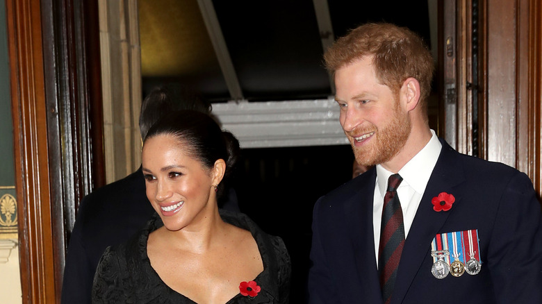 harry and meghan remembrance day