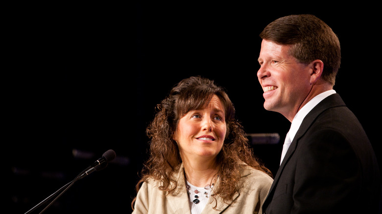 Michelle and Jim Bob Duggar of Counting On