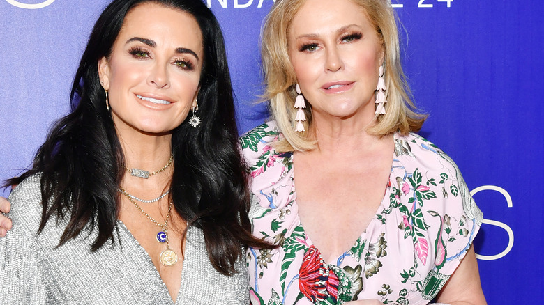 Kyle Richards and Kathy Hilton