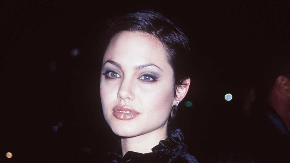 Angelina Jolie on the red carpet in 1997