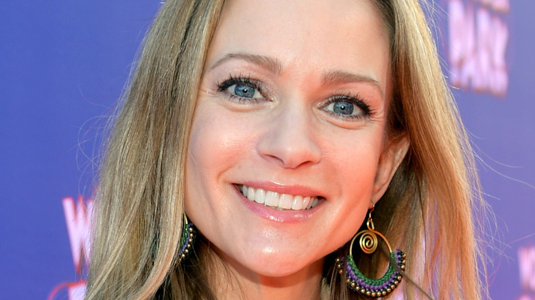 A.J. Cook at event