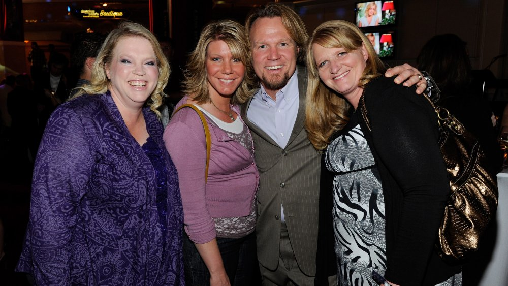 Kody Brown with three wives