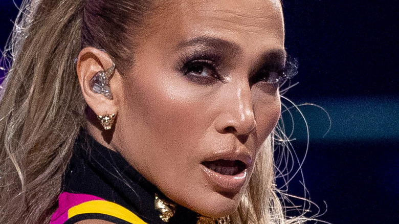 Jennifer Lopez performs onstage at the Vax Live concert