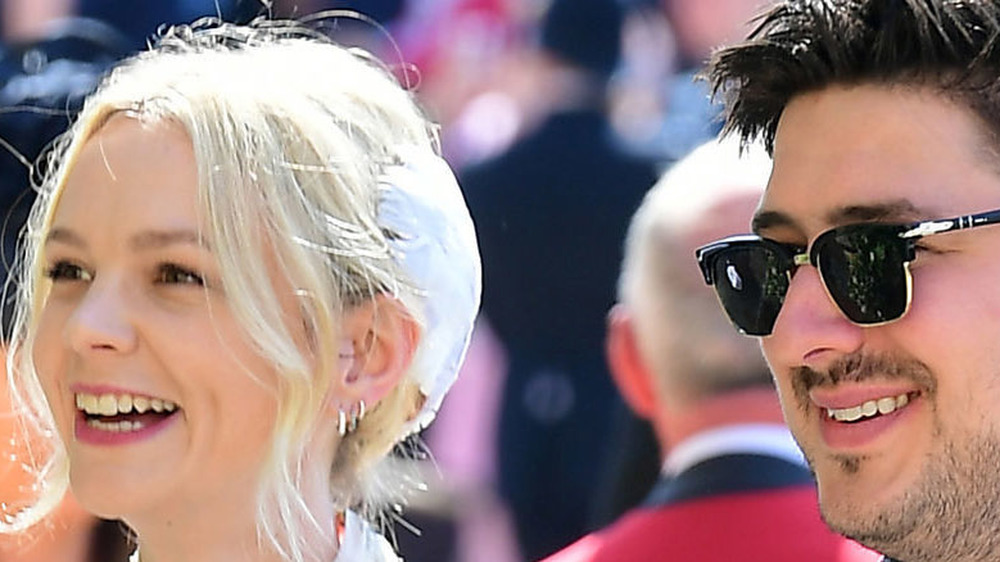 Carey Mulligan and Marcus Mumford at Meghan Markle and Prince Harry's wedding