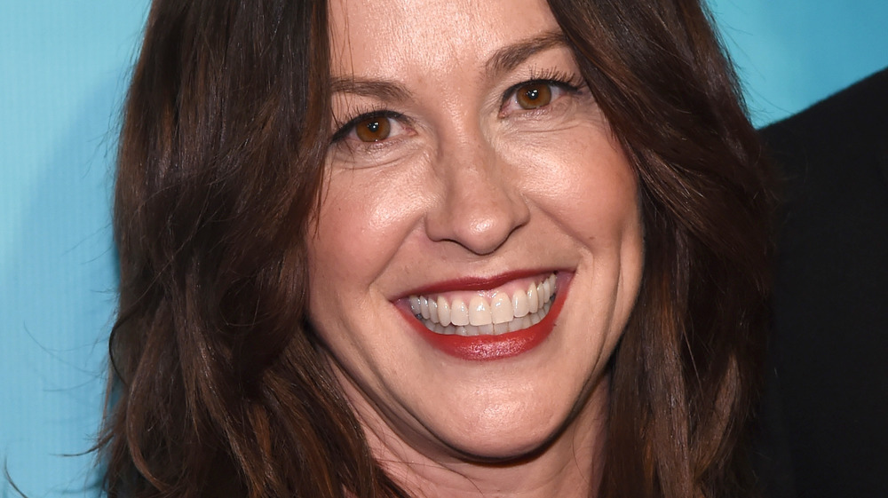 Alanis Morissette at Broadway premiere