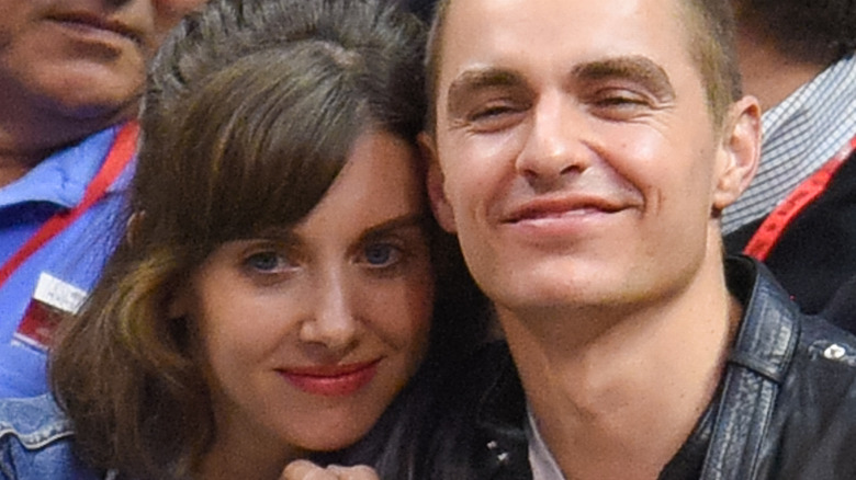 Alison Brie With Dave Franco