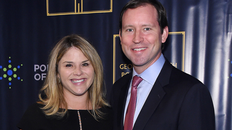 Jenna Bush Hager and Harry Hager at the Points of Light event in 2019