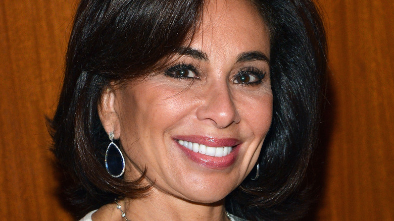 Jeanine Pirro smiling close-up