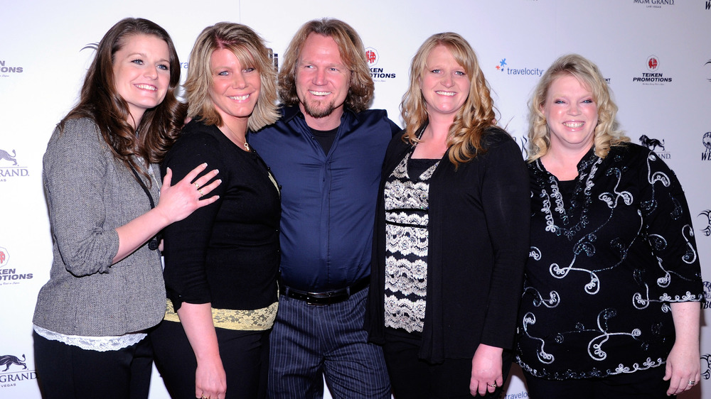 Kody Brown and his wives on the red carpet