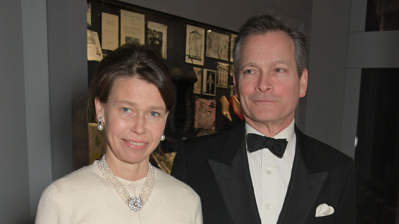 Lady Sarah Chatto and Daniel Chatto at event