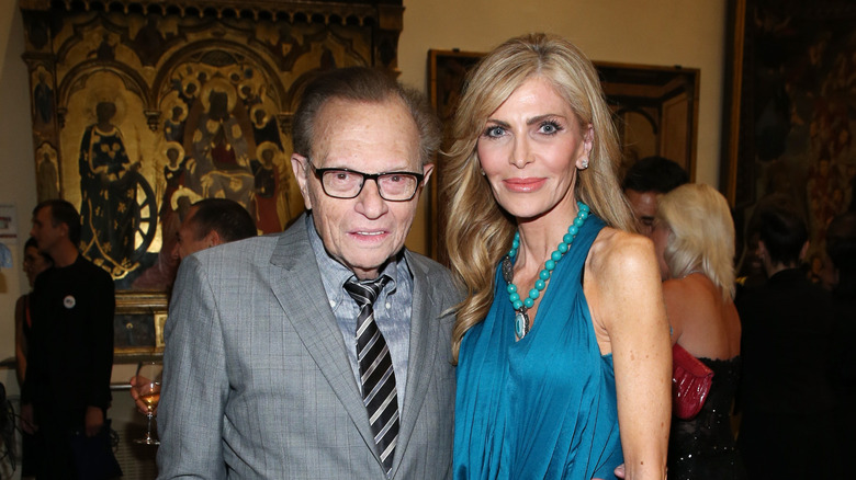 Larry King with Shawn King