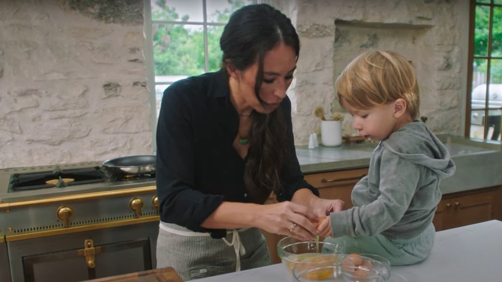 Joanna Gaines and Crew Gaines