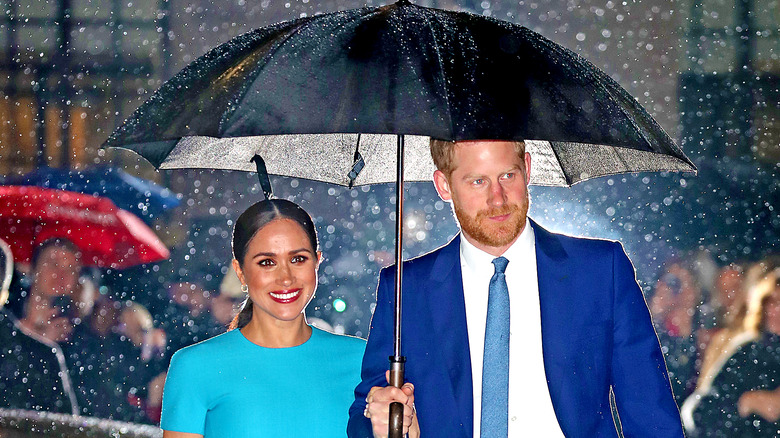 Harry and Meghan in Britain