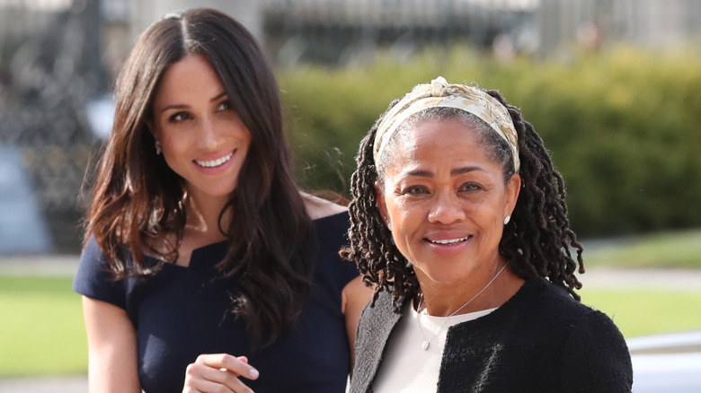 Meghan Markle and her mother Doria Ragland