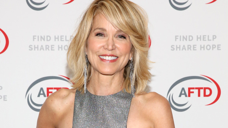 Paula Zahn smiling at benefit