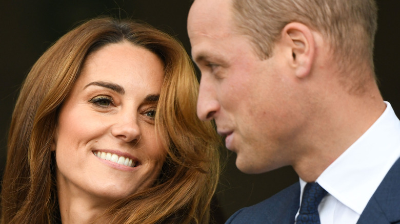 Kate Middleton and Prince William close-up