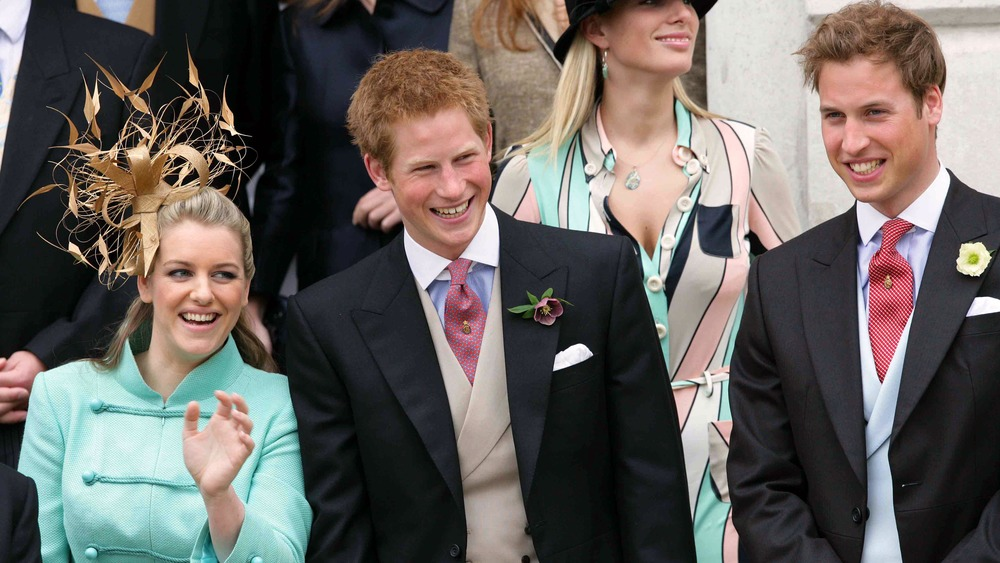 Laura Lopes Prince Harry and Prince William at Prince Charles and Camilla Parker Bowles' wedding