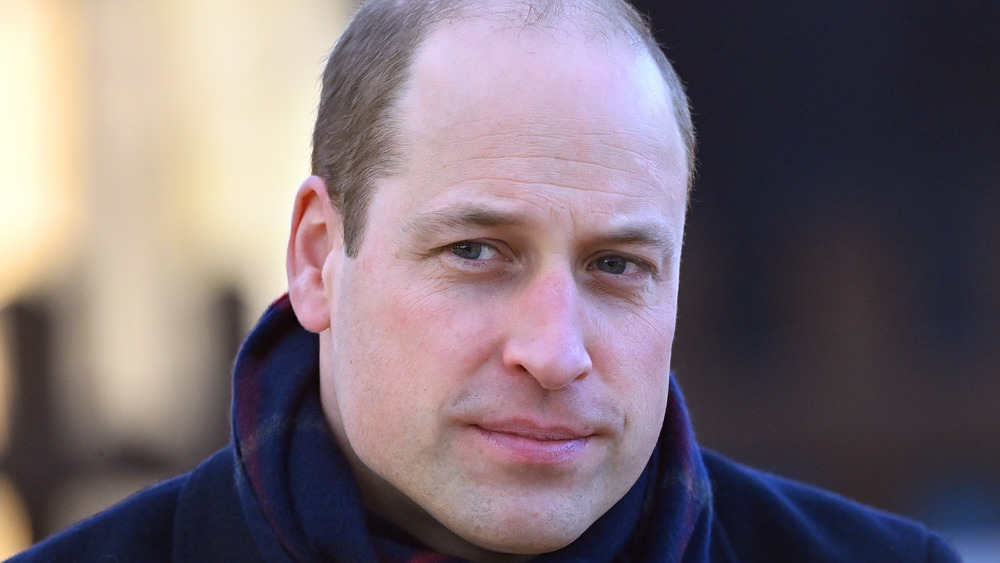 Prince William in blue