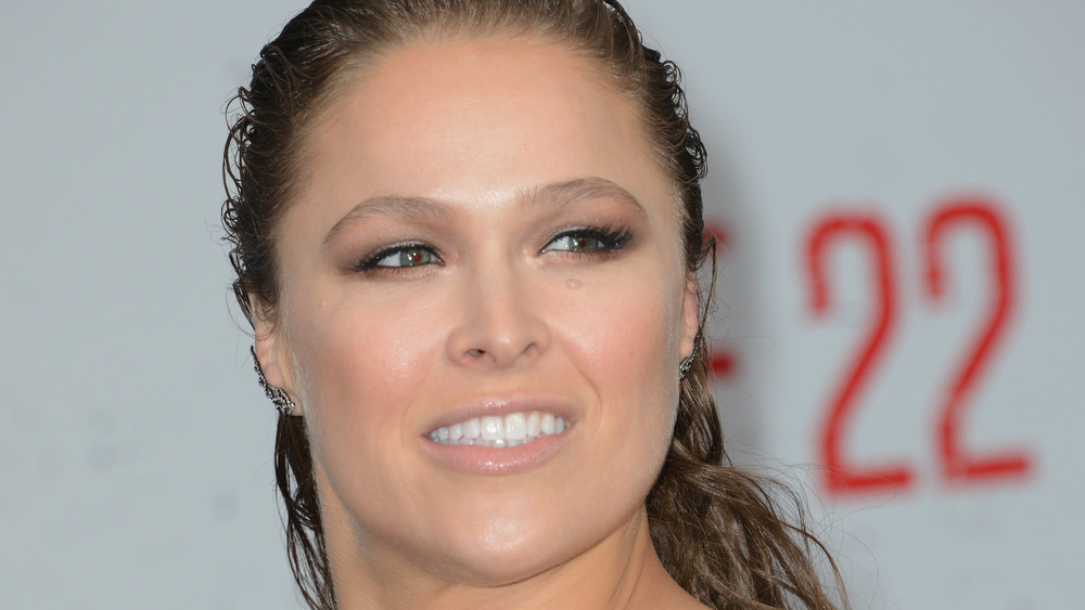 Rhonda Rousey red carpet
