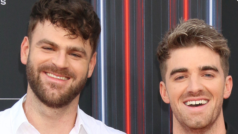 The Chainsmokers on the red carpet