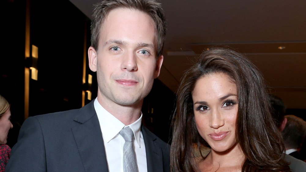 Patrick J Adams and Meghan Markle