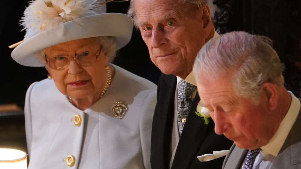 Queen Elizabeth Philip and Charles