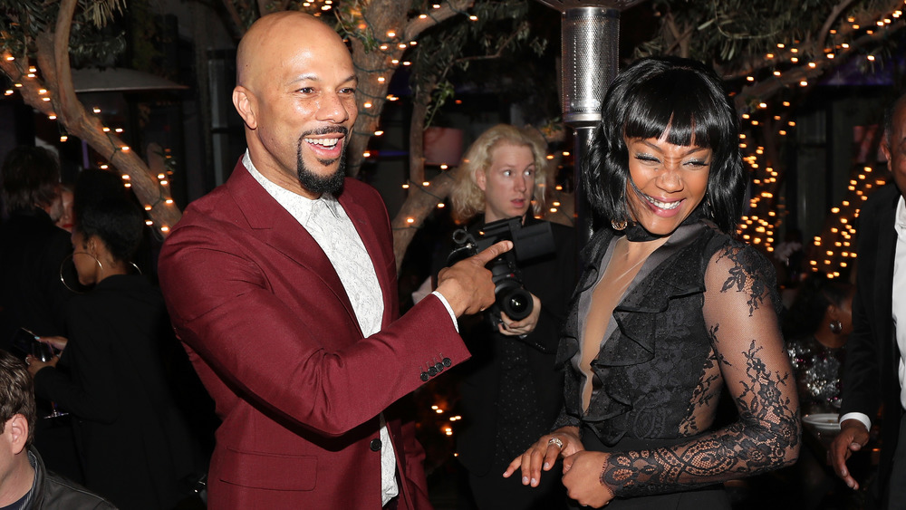 Common smiling with Tiffany Haddish