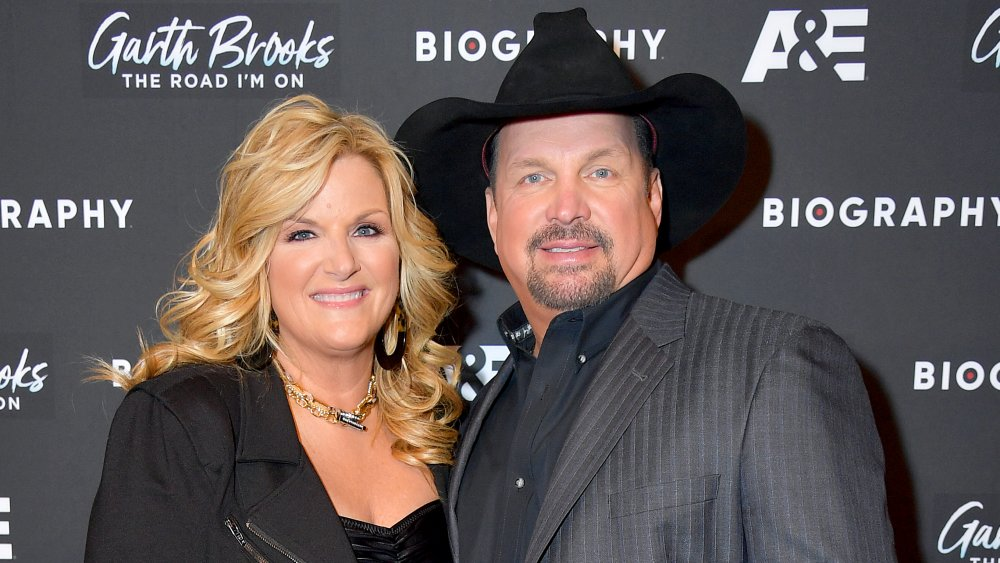 """Trisha Yearwood and Garth Brooks attend the """"Garth Brooks: The Road I'm On"""" Biography Celebration at The Bowery Hotel in 2019"""