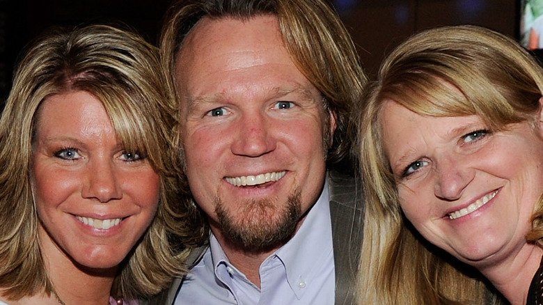 Sister Wives stars smiling
