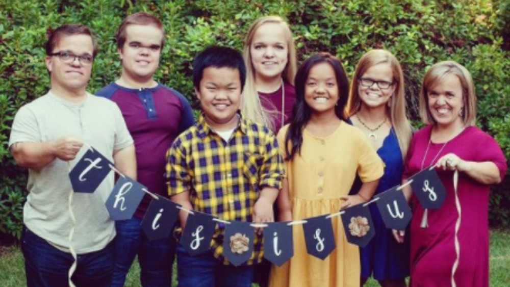The family from 7 Little Johnstons