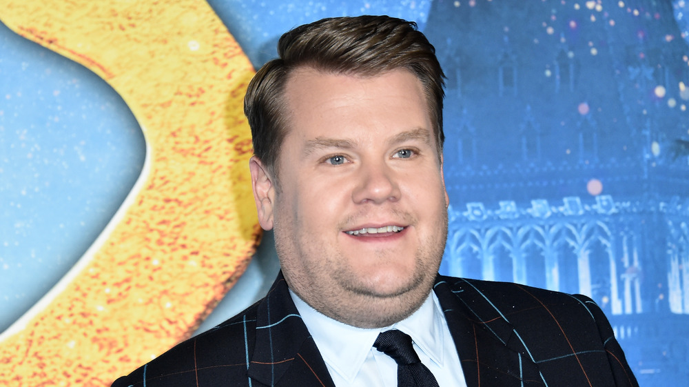 James Corden attending an event